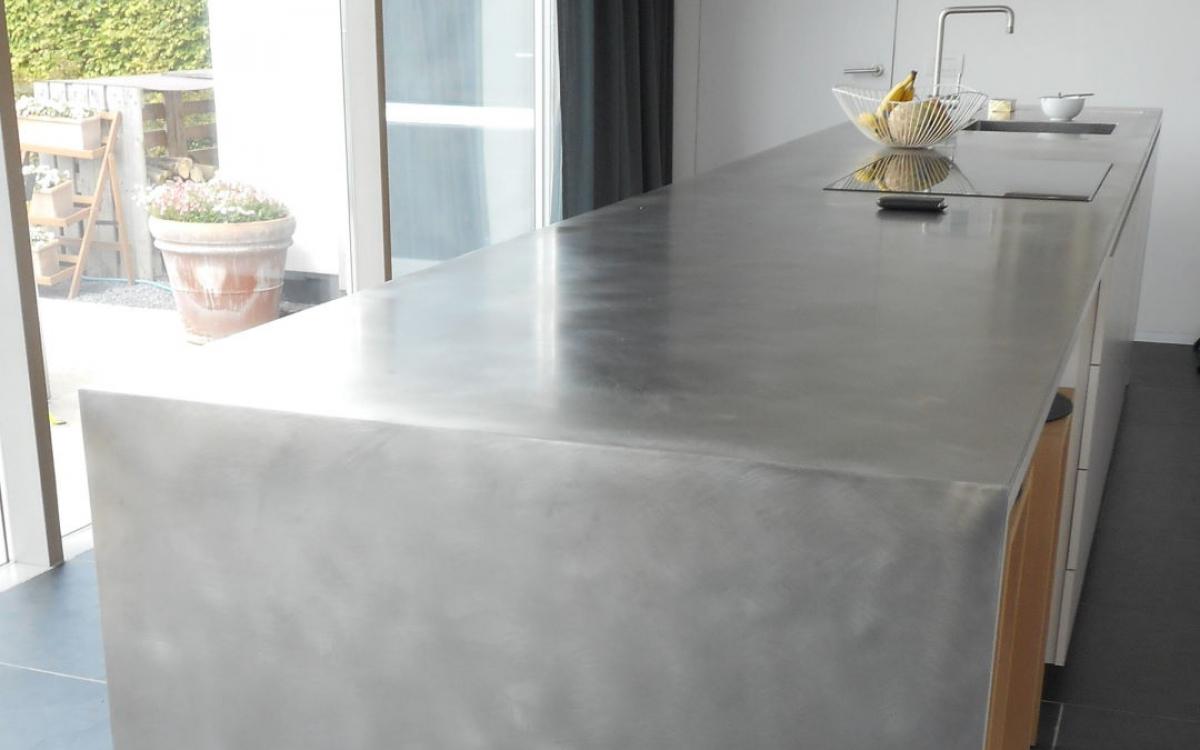 Inox Design Keukens : Werkblad keuken made in inox